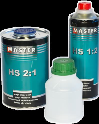 Troton Master HS – Klar lak Pakke – 1L