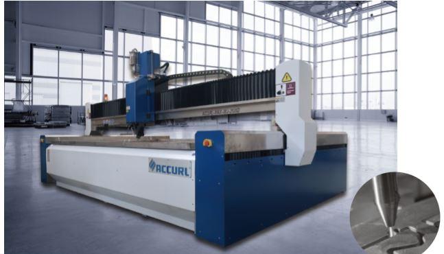 CNC Waterjet Cutting Machine.