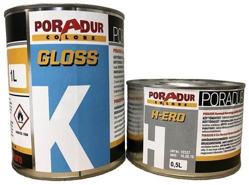 Poradur 2K HS Gloss Clear Coat 1L + hærder 0,5L