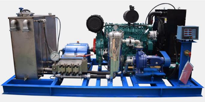 Kloak- og afløbsrensemaskine ES3050 Diesel 500 Bar