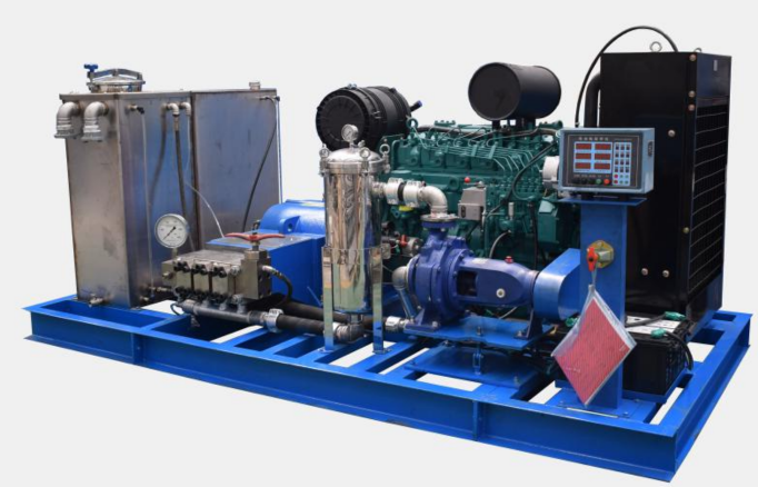Kloak- og afløbsrensemaskine 5070-1 Diesel 700 Bar
